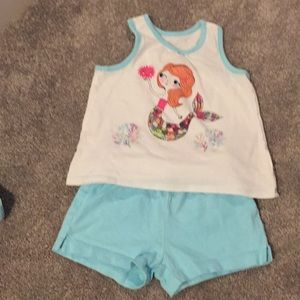 Children's place mermaid outfit